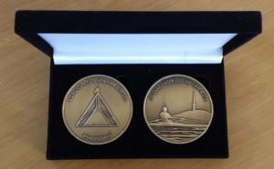 antique gold medallions
